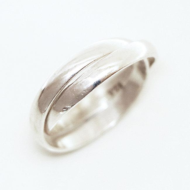 62b821d0b4a Bijoux ethniques Indiens bague anneau alliance de mariage duo en ...