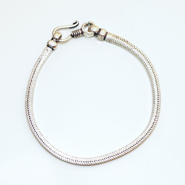 bracelet femme chaine argent
