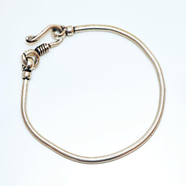 bijoux indiens ethniques bracelet chaine snake homme femme serpent argent mix cuivre rond inde 004. Black Bedroom Furniture Sets. Home Design Ideas