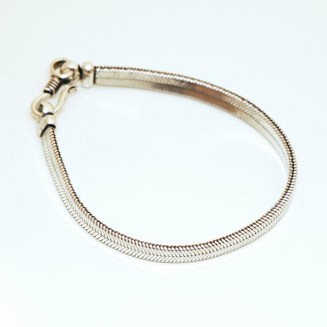 bijoux indiens ethniques bracelet chaine snake homme femme serpent argent mix cuivre rond inde 005. Black Bedroom Furniture Sets. Home Design Ideas