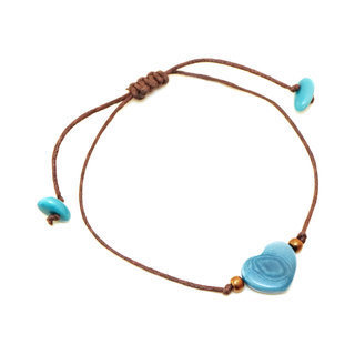 Bracelet Valentino turquoise - Tagua and Co 002