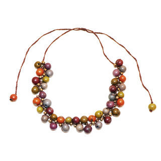 Collier machala multicolore otono - Tagua and Co 001