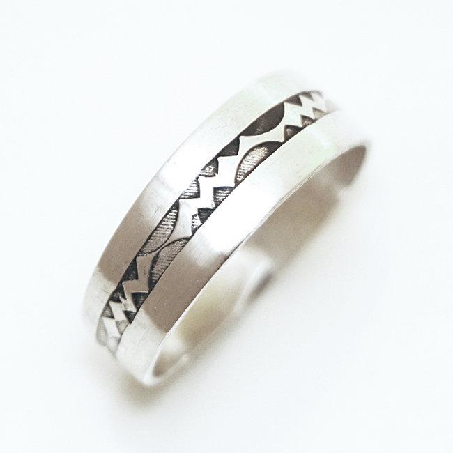 dad7e52670c Bijoux ethniques touareg bague en argent 925 massif anneau alliance ...
