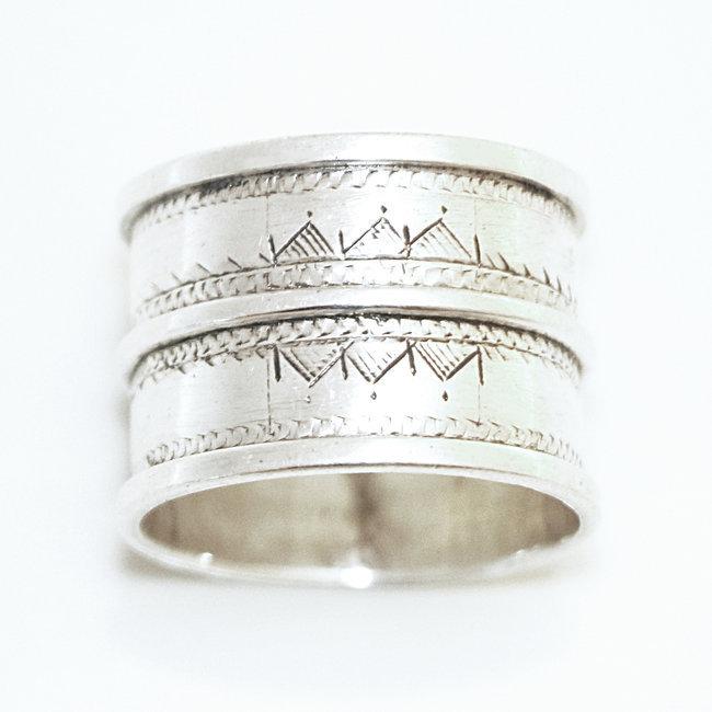 bijoux ethniques touareg bague en argent 925 massif anneau alliance de mariage duo homme femme. Black Bedroom Furniture Sets. Home Design Ideas
