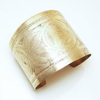bracelet femme manchette or